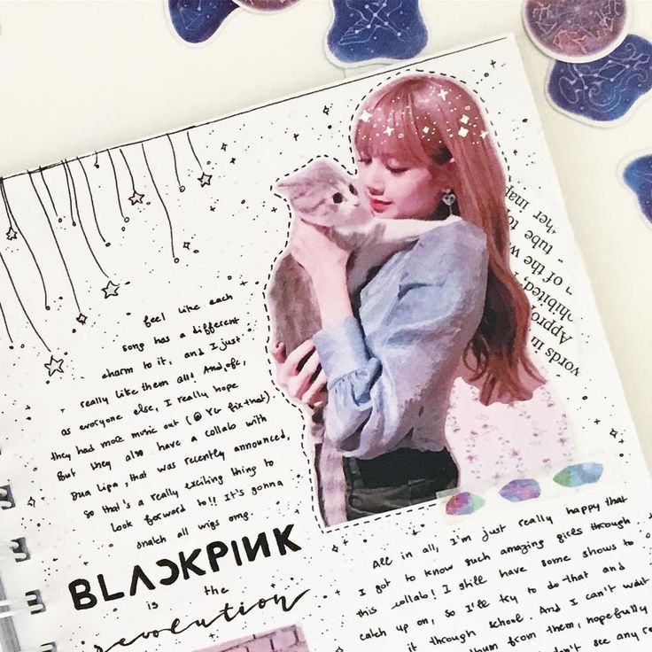 Kawaii Cute Kpop Bullet Journal Idea Bullet Journal Aesthetic