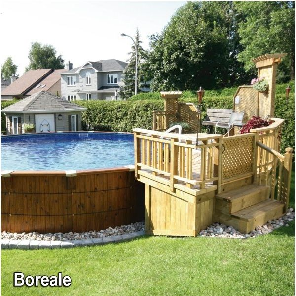 50 best vinyl fence images on pinterest fence ideas for Club piscine above ground pools prices