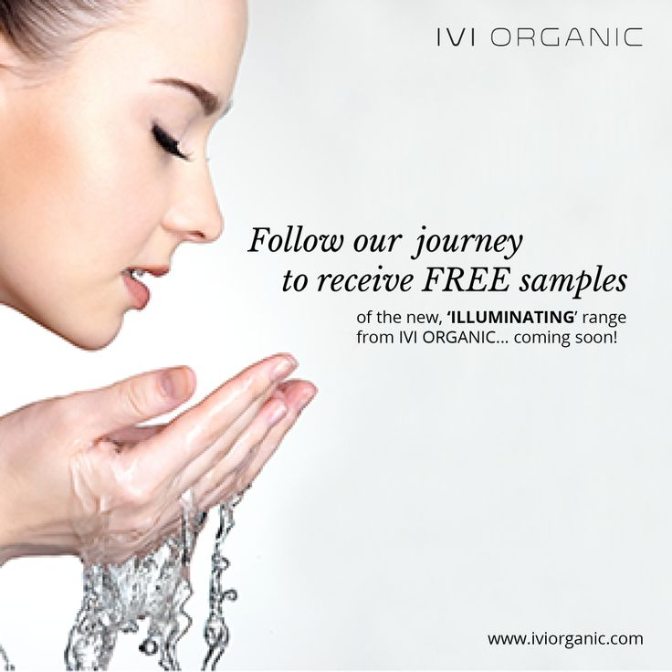 IVI ORGANIC has a new invigorating #ILLUMINATING RANGE coming soon! To follow our journey and receive FREE samples sign up today at www.iviorganic.com