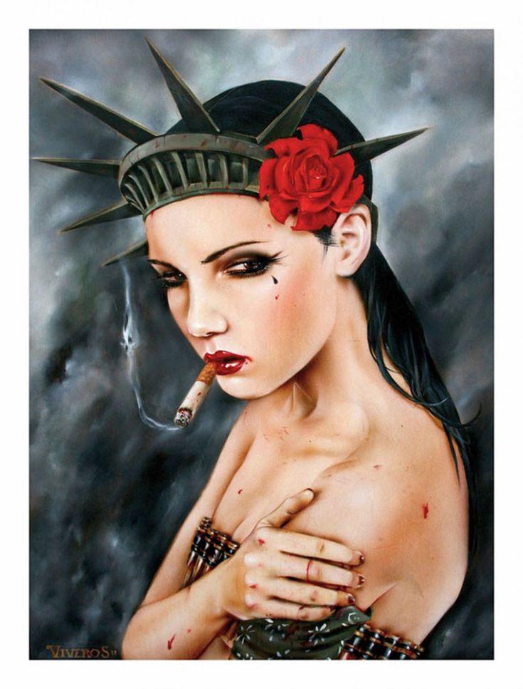 Fetish Girls. New Works by Brian M.Viveros