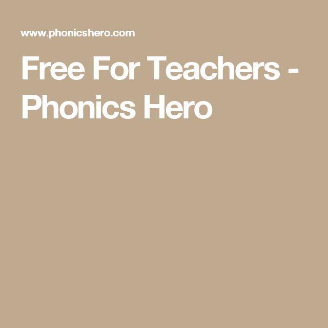 Free For Teachers - Phonics Hero