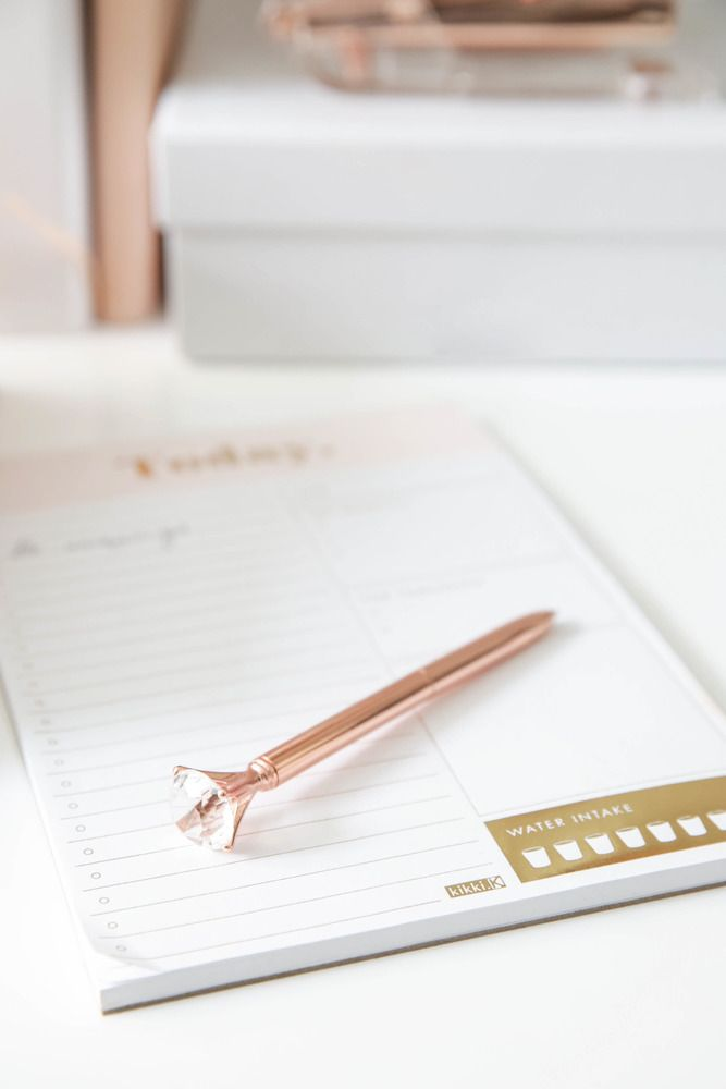 Showpo Nobodys Business pen in rose gold Stationery