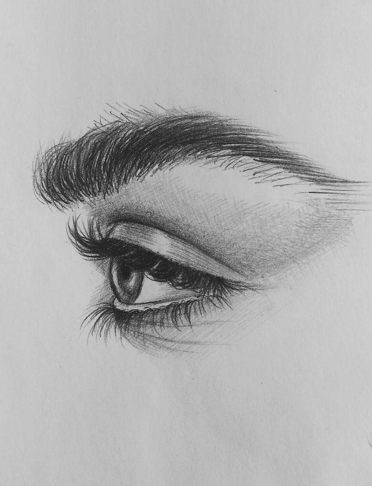 Dessins pour les yeux de #xolgaix • Instagram • @olgairak • #eyes #eyedrawing #sk …