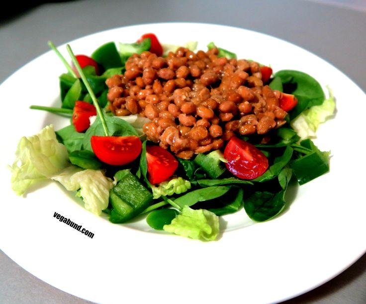 Natto salát / Natto salad  