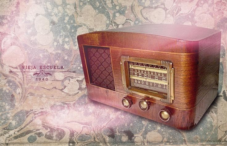Radio Vintage , Fotomontaje