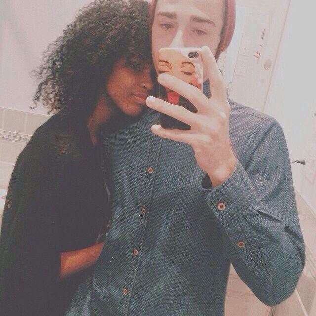 Ebony Teen Girl White Guy