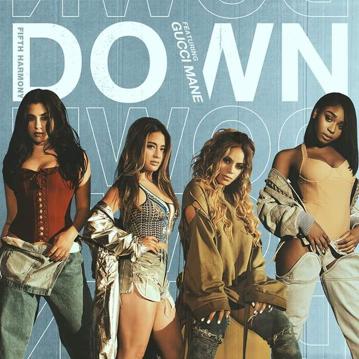 Fifth Harmony's new single cover for new song as a foursome #excited #buzzing