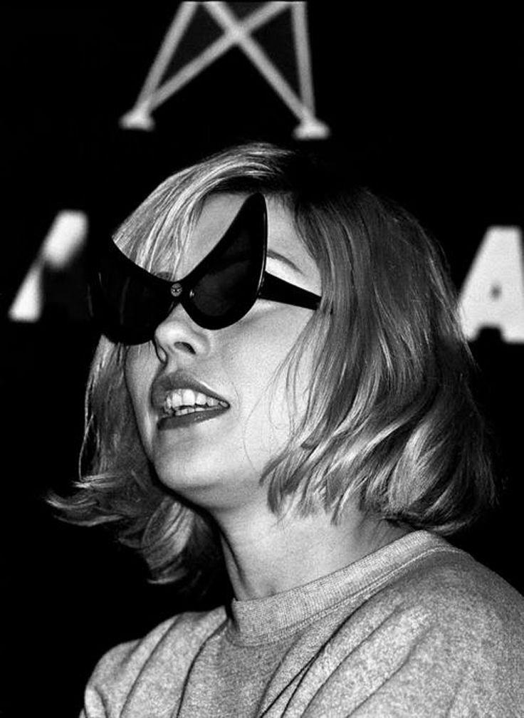 Debbie Harry 1970s #sunglasses #cateye