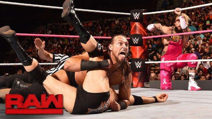 WWE Kicks: Enzo Amore Rocks Pink Air Jordan 12s For Breast Cancer Awareness Month