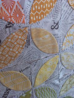 Crazy Old Ladies Quilts: Orange You Glad- a tutorial using fusible interfacing