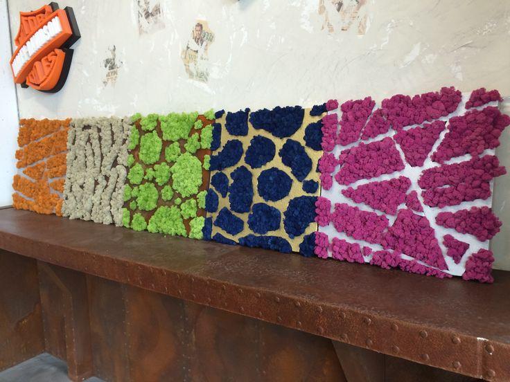 Islandzki mech dekoracyjny - MOSS TREND dostępny w wielu kolorach w BandIt Design. Więcej informacji: www.facebook.com/banditdesignofficial #mech #moss #decor #design #dekoracjaścian