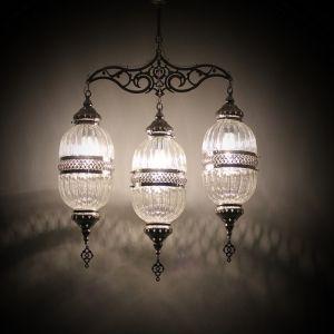 ottoman turkish pyrex chandeleir