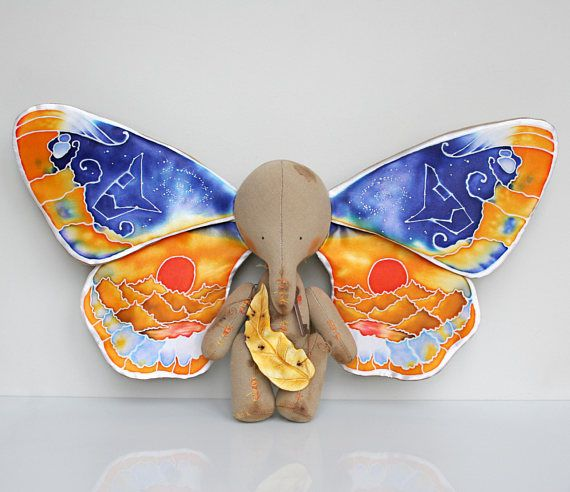 MAKE TO ORDER. Four-Wings Butterfly-Elephant. The Elephant And