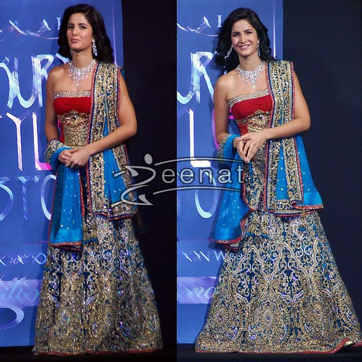 Katrina Kaif In Designer Lehenga Choli At Gitanjali