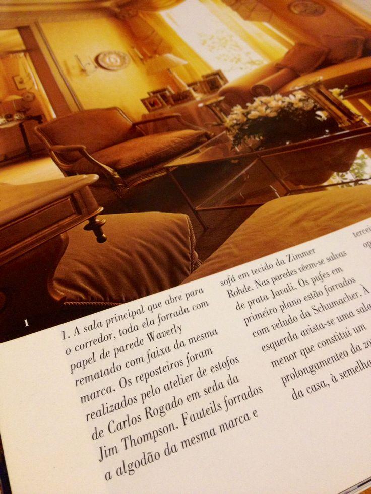 Revista Casa & Jardim - decoração de apartamento em Lisboa