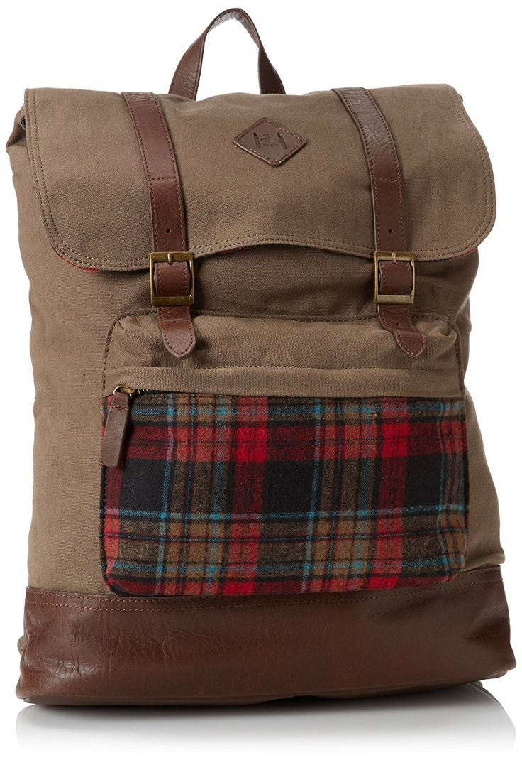 Original Penguin Men's Canvas Rucksack *** Check out this great image  : Hiking packs