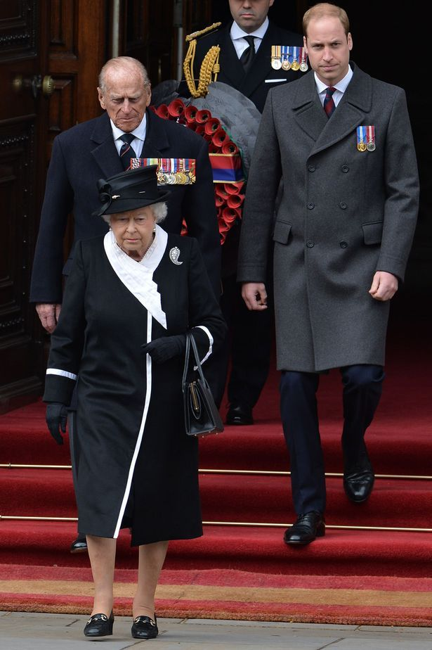 Ceremony: Prince William joins the Queen for an Anzac Day service in London