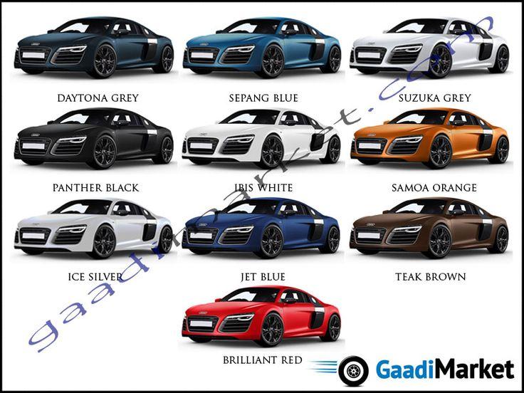 13 Best Images About Audi Colour Options On Pinterest