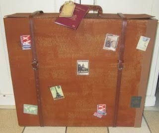 Het keetje van Lien   doos wordt koffer wel of net geen reislust