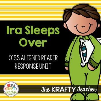 Teach Personal Narratives, Compounds Words and more with Ira Sleeps OverMy students LOVE Ira Sleeps Over by Bernard Waber! I love using it to teach them important skills like personal narrative writing, compound words, text to self connections, and theme