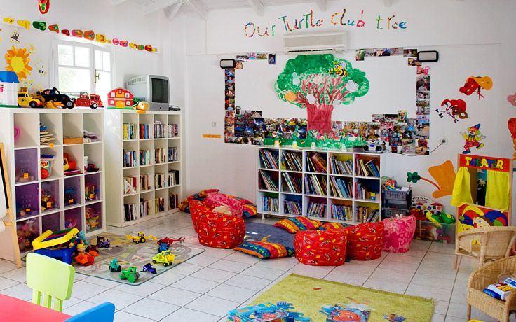 Turtles Club at Periyali Crèche & Children's Club, Zakynthos, Greece #Zakynthos #Greece