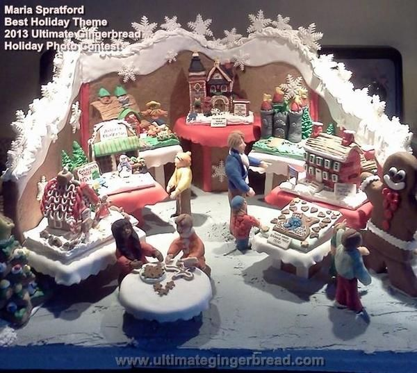 Beach Themed Gingerbread House: 106 Best Images About Gingerbread House Ideas On Pinterest