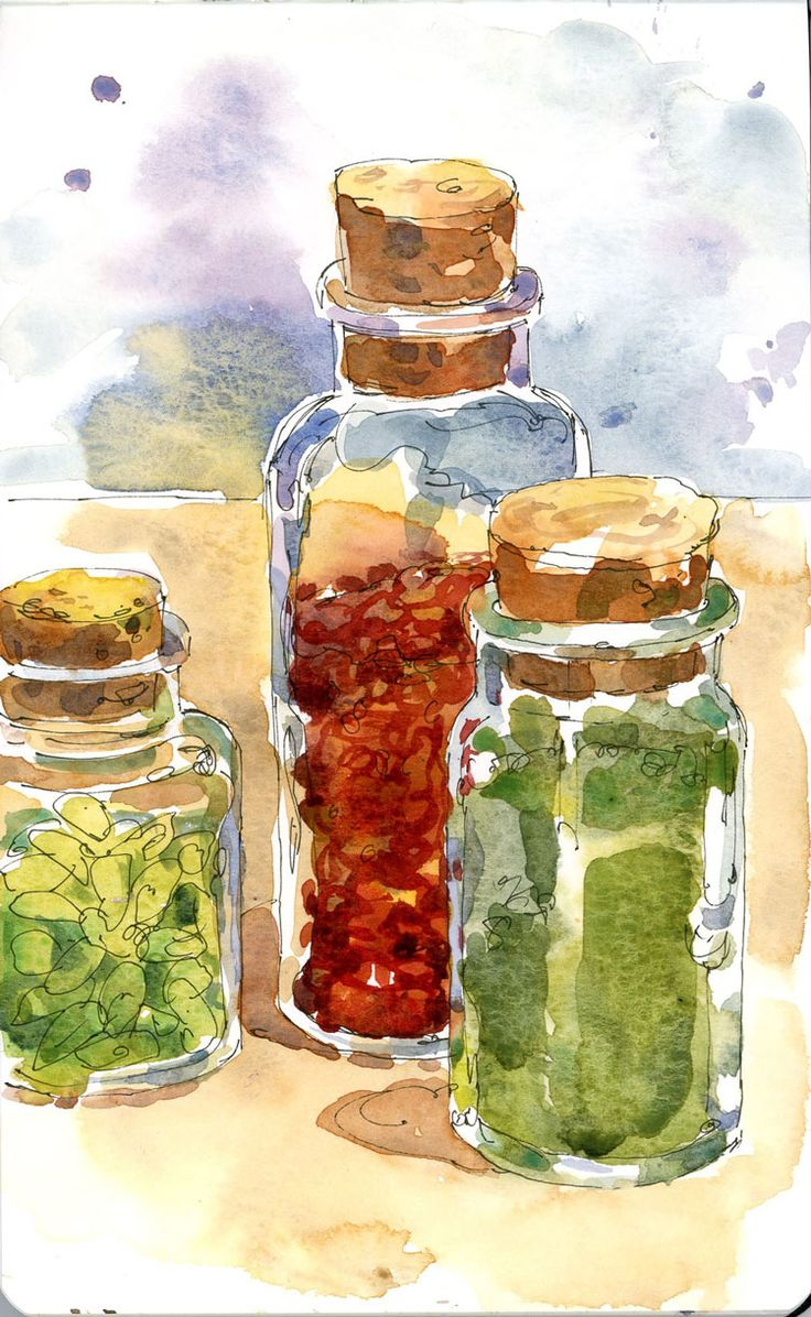 17 Best images about Great watercolor use in a sketch on Pinterest ...