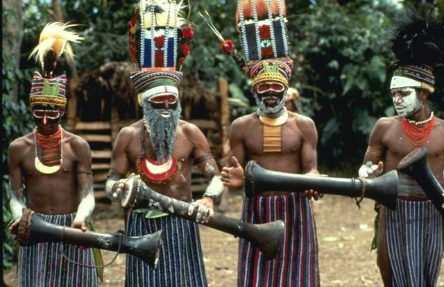 Костюм коренного жителя австралии