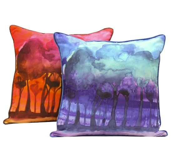 Beautiful countryside inspired digital printed cushion with a faux velvet backing. http://wamhomedecor.com.au/index.php/bubbles-cushion-3396.html