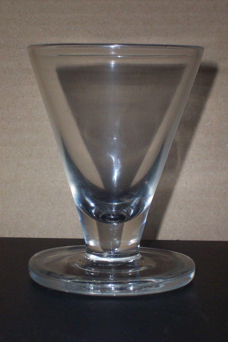 1770 Georgian lead glass ''FIRING GLASS'' 4-1/4'' 110mm rough pontil.
