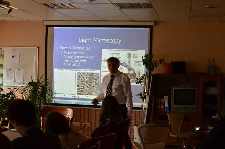 Jakovenko's lecture in Altra Vita clinic.
