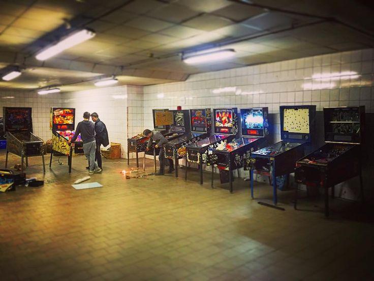 On instagram by gopinball  #arcade #microhobbit (o)  http://ift.tt/1O7OU5X  inventory in #gopinball #pinball #russia  #moscow #stern #пинбол #россия #москва #коллекция #bally #whilliams