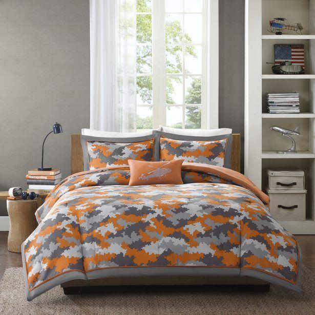 17 Best Ideas About Orange Bedding On Pinterest