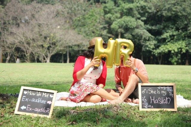Our prewedding photo shoot Theme: romantic casual Place: Malang, Indonesia #wedding #heppykardi88 #august8 #prewed #flowery #casual #romantic #shabby