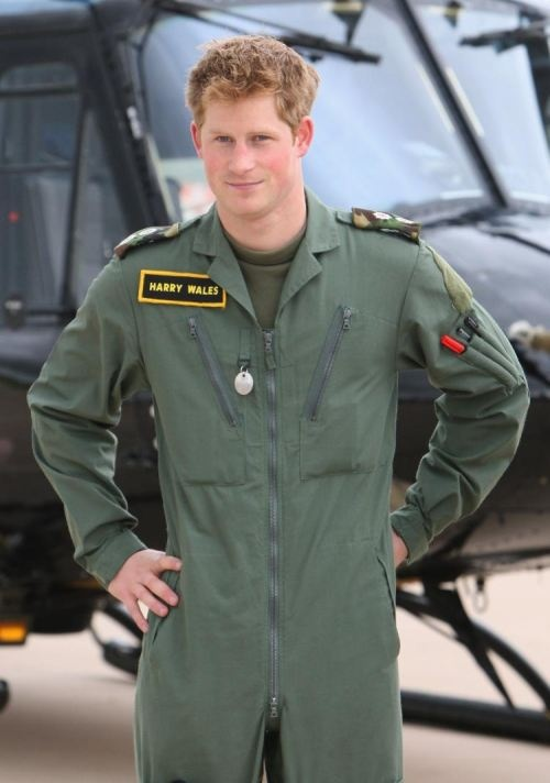 Prince Harry and his mischief..lol!   Stay safe...