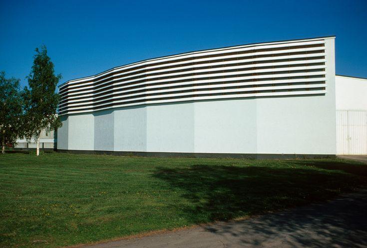 Alvar Aalto - Seinajoki Library Finland