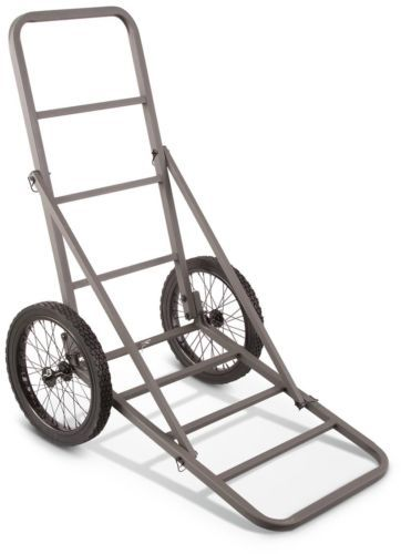 Game Carts Gambrels and Hoists 177888: Deer Hunting Supplies Walking Rolling Cart Season Gloves Metal Frame Buck Call BUY IT NOW ONLY: $68.46