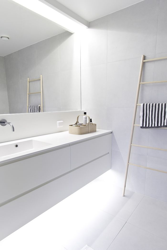 like the vanity being lit from underneath.....like the clean lines, simplicity and spacious....like the colour palette....