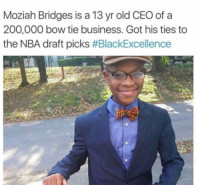 #BlackExcellence I think he was on either Oprah or Steve Harvey