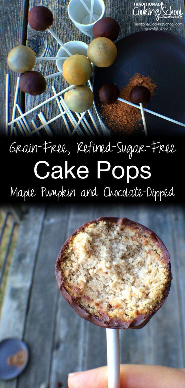 Cake Pop Rezepte und Ideen – Getreidefreie, raffinierte, zuckerfreie Cake Pops – …   – Healthy Recipes