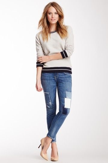 Current/Elliott The Stiletto Stretch Jean by Assorted on @HauteLook $40, down from $248. js