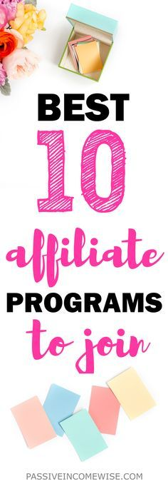 In this post, I share the affiliate programs that allow me to make over $1,000 from affiliate marketing every single month. Do you want to know more? Check my list with my top 10 best performing affiliate programs. Best affiliate programs, make money online, affiliate marketing, how to monetize a blog, ways to make money