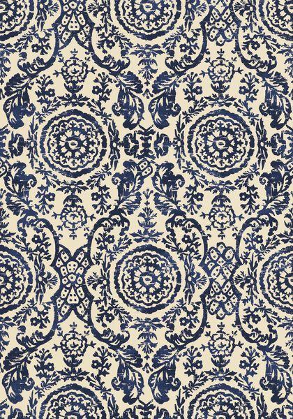 Tapeten Historische Muster : Marineblau, Tapeten and Stoffe on Pinterest