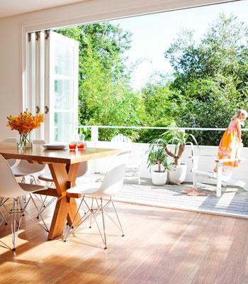 Indoor/Outdoor Dining Room