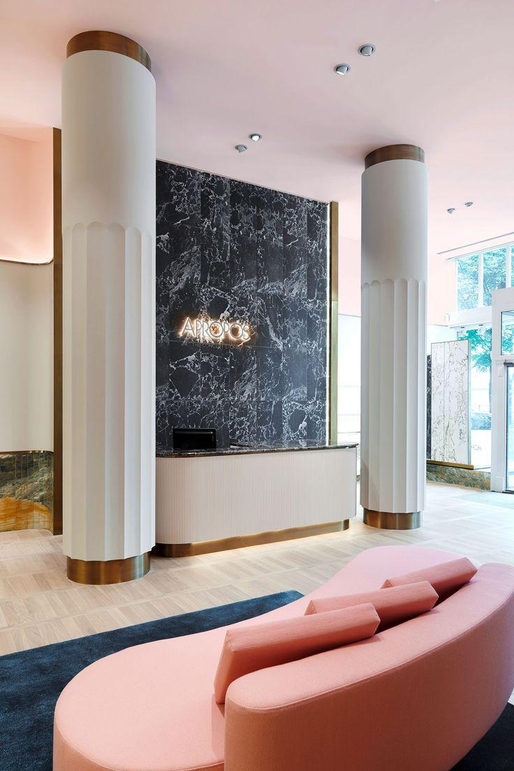 Designer cloth sofa drip sofa hotel lobby sofa china mainland - Apropos Concept Store In Hamburg By Rodolphe Parente Benjamin Liatoud Yelllowtrace