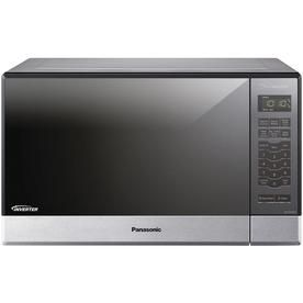 Panasonic 1 2 Cu Ft 1200 Watt Countertop Microwave Stainless Steel Nn Sn686sr Countertop Microwave