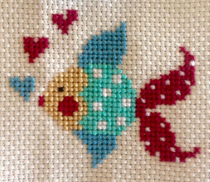 Point croix // Cross stitch #bordado