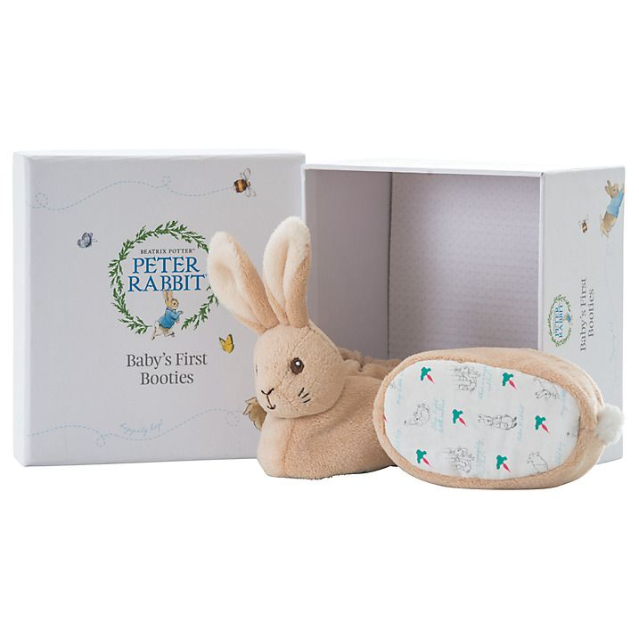 Beatrix Potter Peter Rabbit Baby's First Booties http://www.parentideal.co.uk/john-lewis---baby-clothes-gift-sets.html