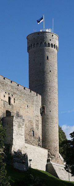 Pikk Herman or Tall Hermann is a tower of the Toompea Castle, Tallinn, Estonia