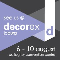 Joburg  - Decorex 2014 in partnership with Belgotex flooring and Home Fabrics, Fabric Library - Stands THLG  THDR